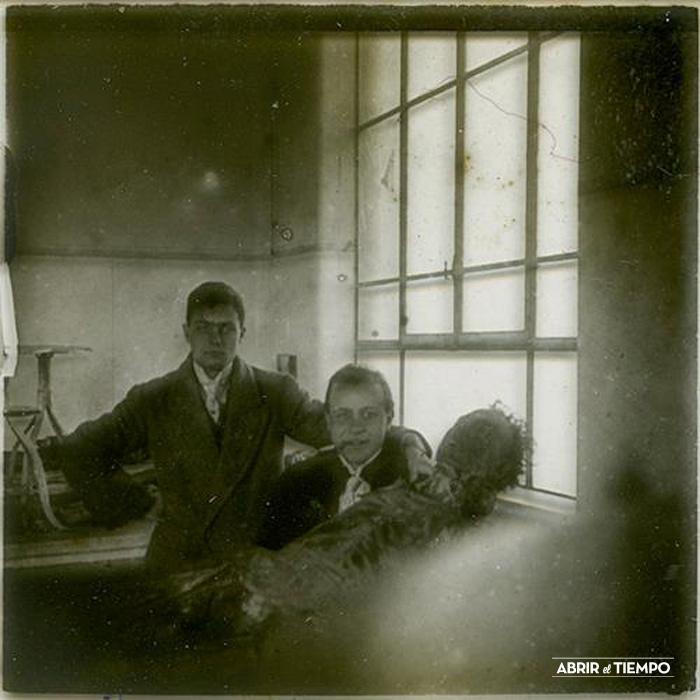 Placa estereoscópica. Junio 1914.