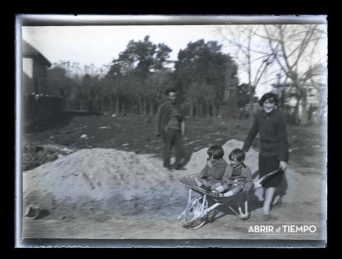 Proceso fotográfico: Gelatino bromuro. Circa 1915. © Abrir el tiempo.