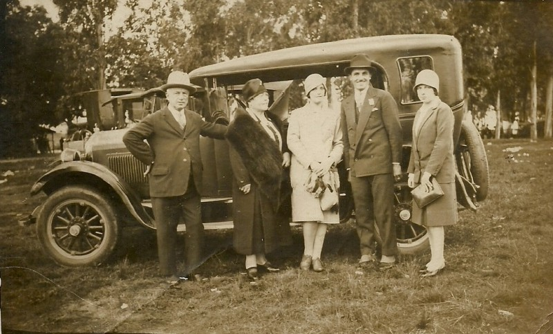 Fotografía de Alicia Brassesco - uruguay - 1920s